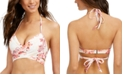 SUNDAZED Simone Printed Wrap Bikini Top, Created for Macy's