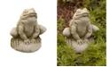 Campania International Frankie Frog Garden Statue