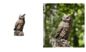 Campania International Large Horned Owl Garden Statue