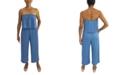 Be Bop Juniors' Strapless Popover Jumpsuit