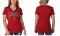 G-III Sports Women's Los Angeles Angels Fair Ball T-Shirt