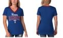 G-III Sports Women's Texas Rangers Fair Ball T-Shirt
