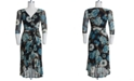 Connected Plus Size Floral-Print High Low Dress