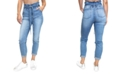 Almost Famous Juniors' Paperbag-Waist Jeans