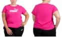 Puma Plus Size Logo Crewneck T-Shirt