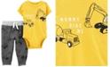 Carter's Baby Boy  2-Piece Construction Bodysuit Pant Set