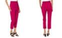 Michael Kors Plus Size Paperbag-Waist Cropped Pull-On Pants