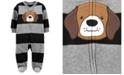 Carter's Baby Boy Dog Zip-Up Fleece Sleep & Play