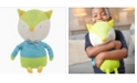 GooseWaddle Baby Boys and Girls Tripp Fox Plush Doll Shirt/Bow Tie