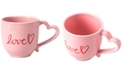 Martha Stewart Collection Martha Stewart Heart Mug, Created for Macy's