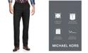 Michael Kors Michael Kors Men's Solid Classic-Fit Stretch Dress Pants