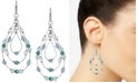 Style & Co Multi-Bead Triple-Teardrop Drop Earrings, Created for Macy's