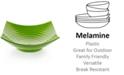 Q Squared Zen Melamine Green Serving Bowl