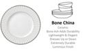 Lenox Onyx Platinum  Bone China Dinner Plate