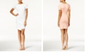 Bar III Envelope-Hem Sheath Dress, Created for Macy's