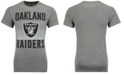 Authentic NFL Apparel Men's Oakland Raiders Block Shutter T-Shirt