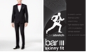 Bar III Men's Skinny Fit Stretch Wrinkle-Resistant Wool Suit Separates, Created for Macy's