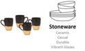 Godinger Golden Onyx 4-Pc. Mug Set