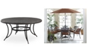 "Furniture 48"" Round Aluminum Outdoor Dining Table, Created for Macy's"