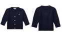 Polo Ralph Lauren Ralph Lauren Baby Boys Combed Cotton V-Neck Cardigan