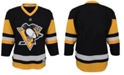 Authentic NHL Apparel Pittsburgh Penguins Blank Replica Jersey, Big Boys (8-20)