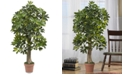 Nearly Natural 4' Schefflera Real Touch Tree