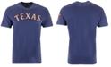 '47 Brand Men's Texas Rangers Fieldhouse Basic T-Shirt