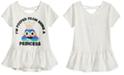 Happy Threads Toddler Girls Crisscross Strap T-Shirt