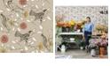 Tempaper Novogratz for Birds Self-Adhesive Wallpaper