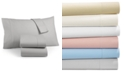 Martha Stewart Collection Luxury 100% Cotton Flannel 4-Pc. Full Sheet Set, Created for Macy's