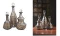 IMAX Acadia Glass Decanters - Set of 3
