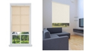 "US Shade & Shutter Cordless Linen Look Light Filtering Fabric Roller Shade, 23""  W x 66"""