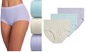 Jockey Elance Breathe Brief 3 Pack Underwear 1542, Extended Sizes