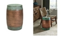 IMAX Rania Copper Plated Stool