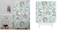 Deny Designs Heather Dutton Tea Time Shower Curtain