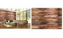 Brewster Home Fashions Reclaimed Wood Wall Mural