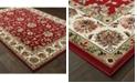 """Oriental Weavers Kashan 4929R Red/Ivory 5'3"""" x 7'6"""" Area Rug"""