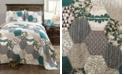 Lush Decor Briley 3-Pc Set King Quilt Set