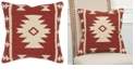 """Rizzy Home 18"""" x 18"""" Stripes with Motif Accents Pillow Collection"""