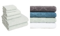 American Dawn Hart Diamond 6 Piece Textured Towel Set