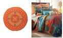 Levtex Home Mackenzie Round Orange Pillow