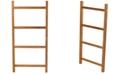"A.R.B Teak & Specialties ARB Teak Decorative Towel Ladder-47"""