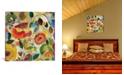 "iCanvas ""Garden Fantasie"" By Kim Parker Gallery-Wrapped Canvas Print - 37"" x 37"" x 0.75"""