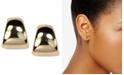 Anne Klein Gold-Tone Button Post Earrings