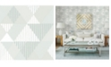 "Brewster Home Fashions Mod Peaks Wallpaper - 396"" x 20.5"" x 0.025"""