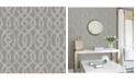 """Brewster Home Fashions Ethereal Trellis Wallpaper - 396"""" x 20.5"""" x 0.025"""""""