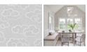 "Brewster Home Fashions Skylark Cloud Wallpaper - 396"" x 20.5"" x 0.025"""