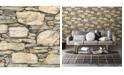 "Brewster Home Fashions Stone Wall Wallpaper - 396"" x 20.5"" x 0.025"""