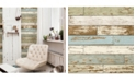 "Brewster Home Fashions Scrap Wood Wallpaper - 396"" x 20.5"" x 0.025"""