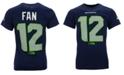 Authentic NFL Apparel Men's Fan #12 Seattle Seahawks Eligible Receiver II T-Shirt